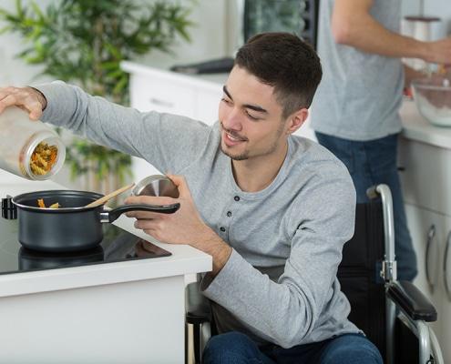 Travaux pour cuisine PMR