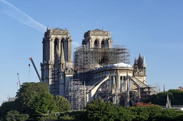Chantier de restauration de la cathédrale Notre-Dame de Paris