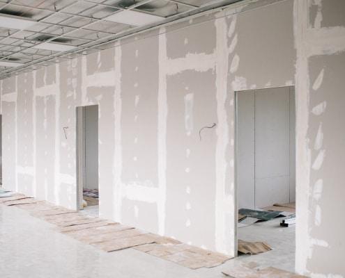 Conseils de réalisation de mur en placo