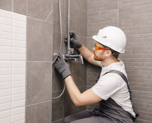 Robinet de douche : comment l'installer ?