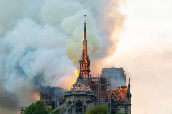 Incendie de la cathédrale Notre-Dame de Paris