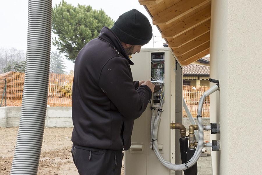 Prix de la pose d'une pompe à chaleur air eau