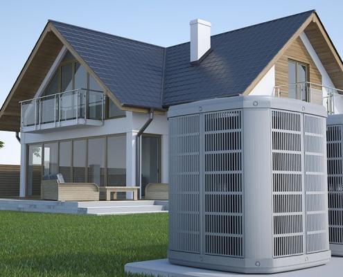 Pompe à chaleur pour une maison de 200m²