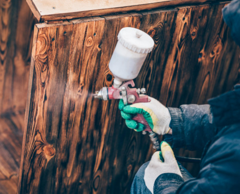 Conseils pour vieillir du bois avec de la peinture