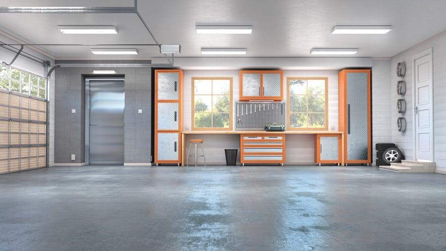 Garage de 55 m2 pour 3 voitures