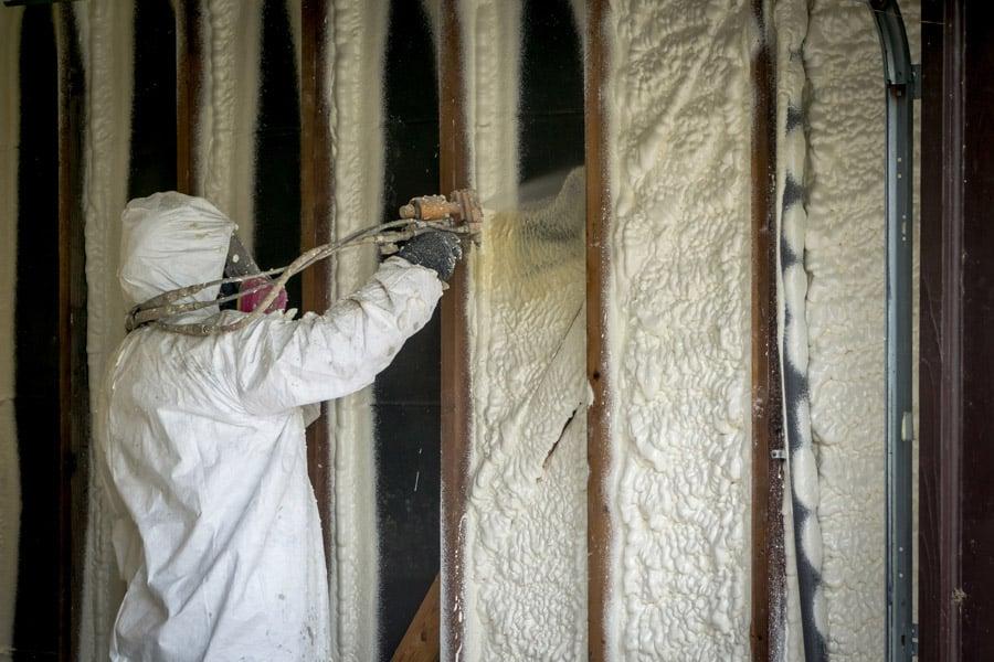 Isolation en mousse polyuréthane