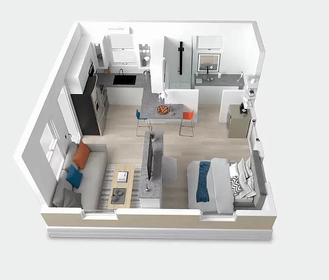 Tiny-house boxabl