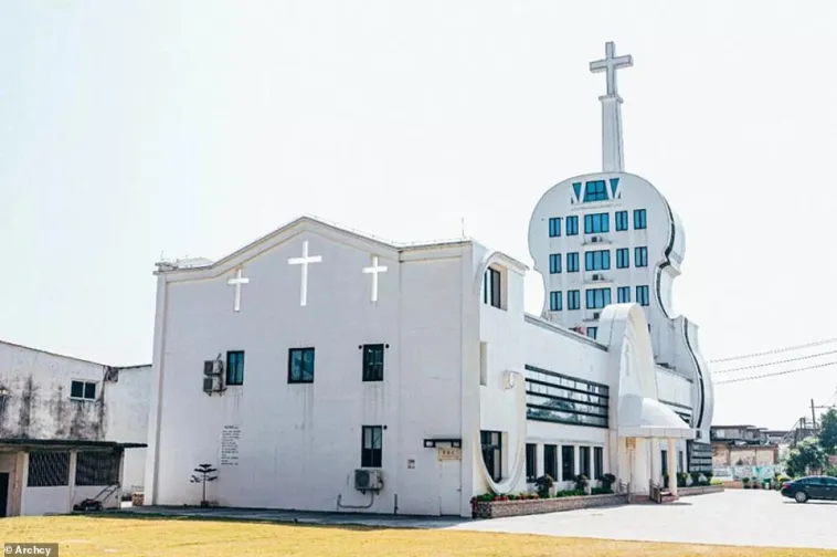 Eglise violon de Foshan