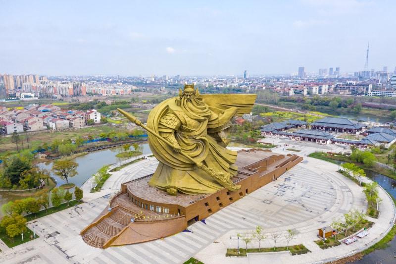 Statue Guan Yu