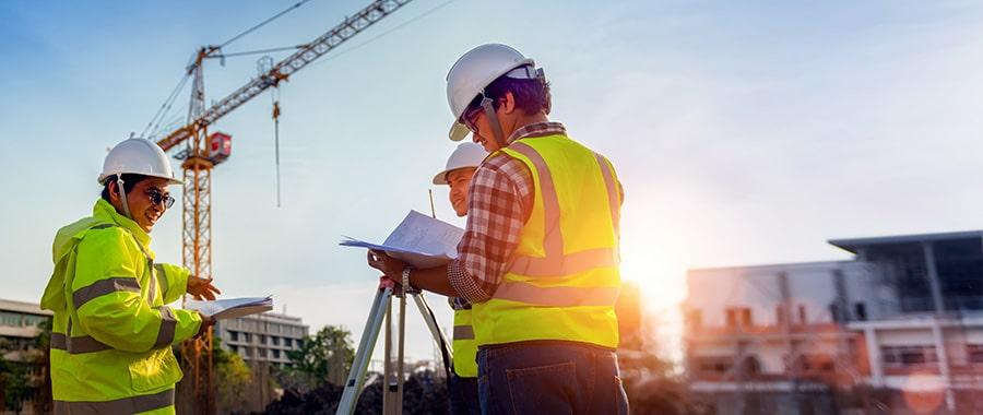 Projet de construction de bâtiment industriel