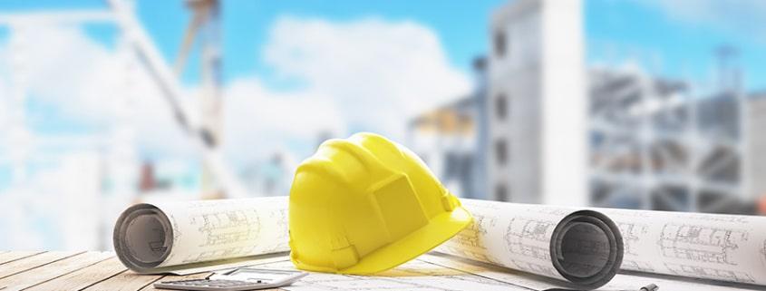 Réalisation d'une construction industrielle