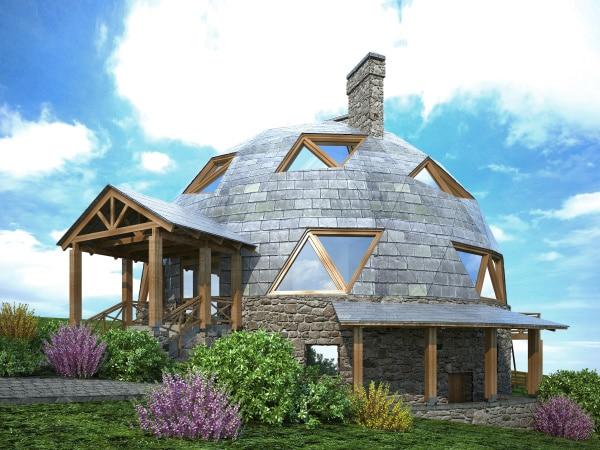 Maison du futur écologique